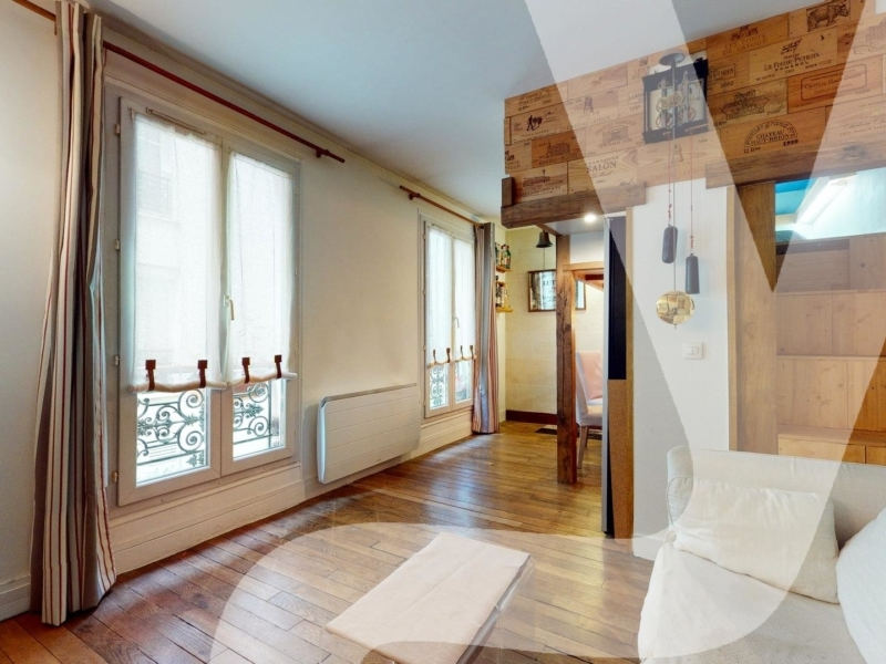 Michel Bizot – Duplex 3 pièces 51m2