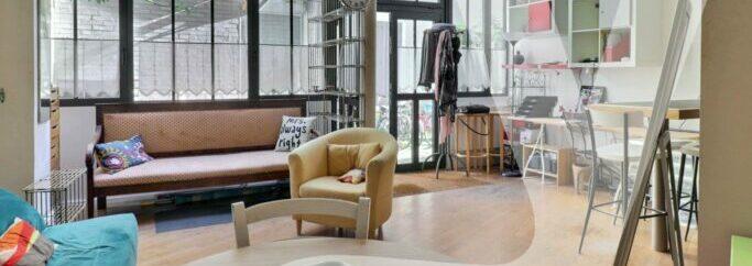 Studio Meublé De 38m² Avec Mezzanine – Rue Keller
