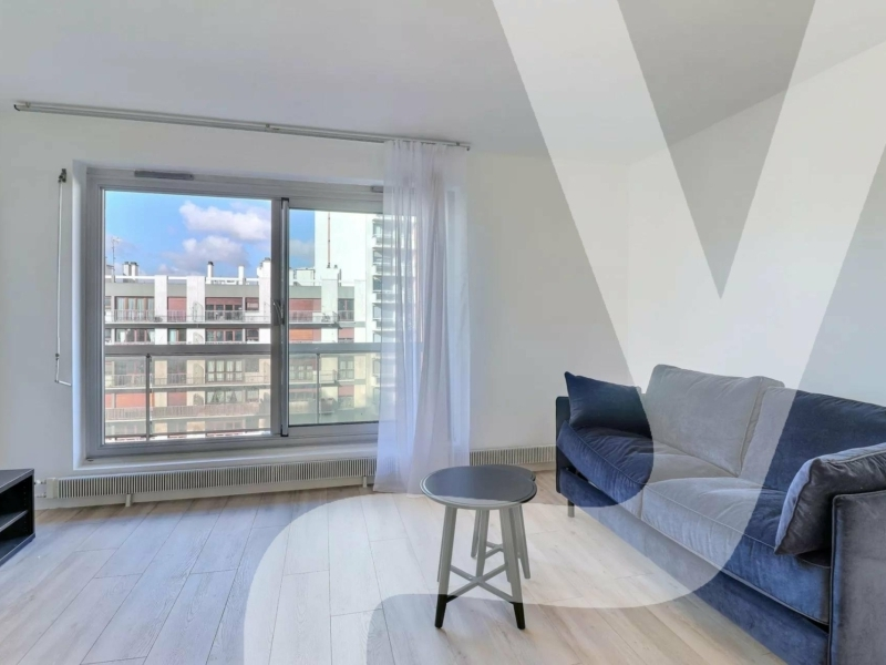 Studio meublé 27m² avec balcon – BEL AIR
