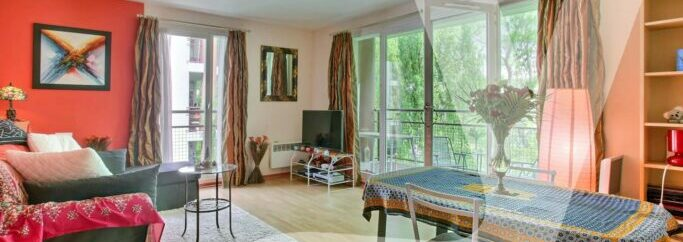 Appartement 2 Pièces – Balcon – Parking Osny 95