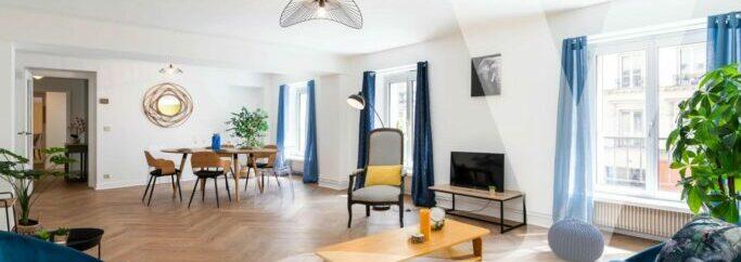 Appartement Familial – Métro Poissonnière