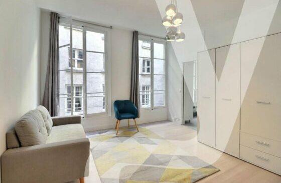 Studio Meublé 25m² – Châtelet